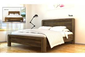 Wooden Bed Frame Double by Cheap New Solid Acacia Wooden Bed Double King Sleep Design
