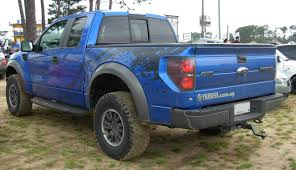 Ford Raptor Colors - file ford f 150 raptor svt blue rear jpg wikimedia commons