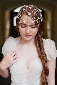 bridal headpieces picture of awesome boho chic bridal headpieces