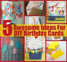 awesome birthday card ideas u2013 gangcraft net