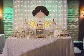rachel j special events star wars baby shower featuring princess leia