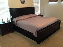 ana white cassidy bed works well with a sleep number platform