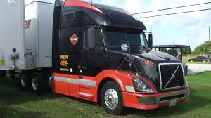 used volvo tractor trailers for sale harley davidson painted volvo semi truck in florida in sony hd