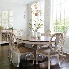 Fascinating Shabby Chic Dining Room Table And Chairs  On Dining - Shabby chic dining room set