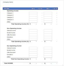 profit loss statement template delux balance sheet u2013 studiootb