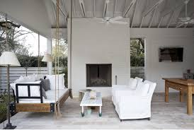 modern patio swing into summer modern patio swings the interior collective