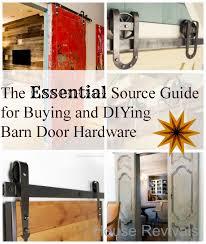 Barn Door Box Rail House Revivals Barn Door Hardware Guide