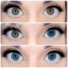red eye contacts for halloween circle lenses are special colored contacts with a dark outer ring