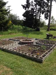 Build A Platform Bed With Cinder Blocks by My Amazing Cinder Block Square Foot Garden Planting Garden Grows
