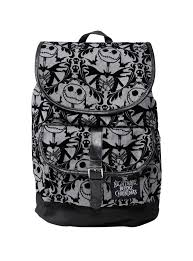 nightmare before christmas slouch backpack topic