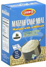 osem matzah osem matzah cake meal 16 0 oz nutrition information shopwell