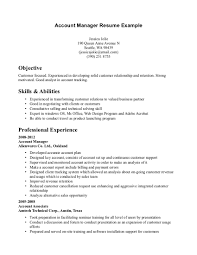 account manager resume exles exle account manager resume free sle resume templates