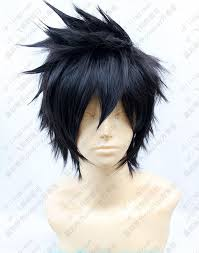 spiky anime hairstyles psycho pass kogami shinya anime hair short black spiky cosplay wig