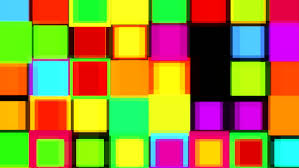 colorful flashing chequered squares disco dance floor element