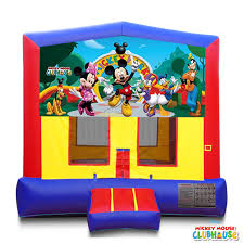 mickey mouse clubhouse bounce house bounce houses zuber party rentals entertainment