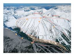New Mexico Ski Resorts Map by Trail Map Castle Mountain