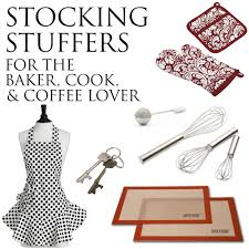 stocking stuffers for the baker cook and coffee lover
