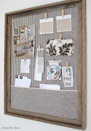 kitchen bulletin board ideas framed cork bulletin board a easy diy driven by decor amazing