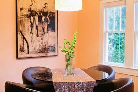 Orange Dining Room Kacey Musgraves Home Tour U0026 Interview Domino