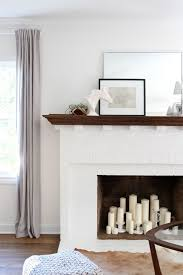 3 Stylish Mantel Displays Sainsbury Best 25 Candle Fireplace Ideas On Pinterest Fireplace With