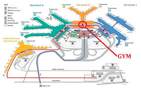 mco terminal map aa guide ord chicago o hare int l airport mct etc page