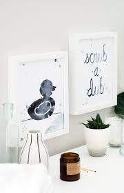 Free Printable Bathroom Art Printable Bathroom Wall Art Download These Two Free Designs