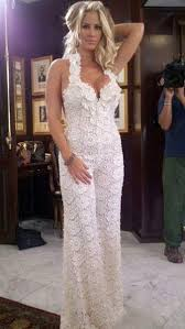 Wedding Dress Jumpsuit Remember The Bridal Jumpsuit Someone U0027s Wearing It For Real Does