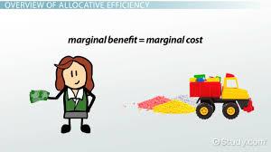 allocative efficiency in economics definition u0026 example video