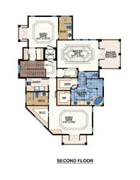 mediterranean style house plan 3 beds 4 00 baths 3337 sq ft plan