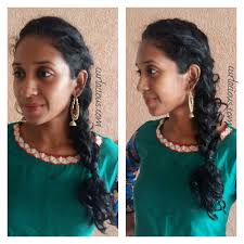 quick hairstyle ideas for indian naturally curly and wavy hair
