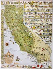 california map society historical atlas of california with original maps california map