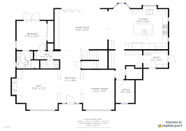 floor plan com sle plan square footage matterport help center