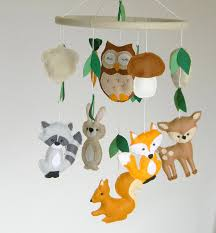 Handmade Nursery Decor by Nursery Mobile Mountains Baby Mobile Modern Nursery Decor Trees
