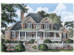 traditional 2 story house plans traditional house plans farmhouse plan 4 bedroom floor 3d