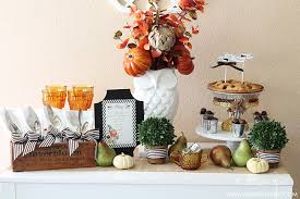 thanksgiving table setting decorating inspiration