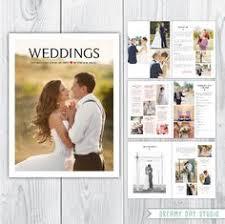 Wedding Pamphlet Template Indesign Wedding Brochure Template Pinterest Brochures And