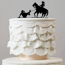 cowboy wedding cake toppers wedding cake topper humorous country western rustic