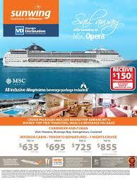 free 150 shipboard credit msc opera caribbean and cuban cruise