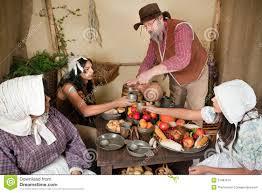thanksgiving reenactment stock photo image 21487610