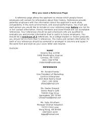 How To Include References On Resume 18 Should You Include References On Resume How To Write A Cv