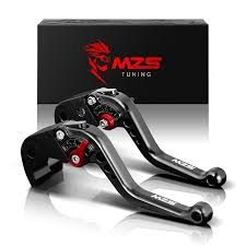 Mzs Short Brake Clutch Levers For Yamaha Fz 09 Mt 09 Sr Not Fj 09