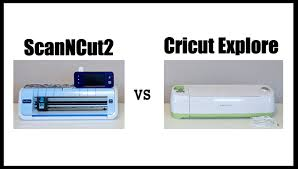 comparing scanncut and cricut cutting machines youtube