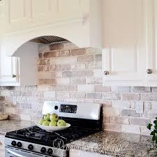 Best  Brick Veneer Wall Ideas On Pinterest Repair Indoor - Brick veneer backsplash