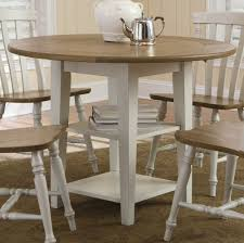 Round Pedestal Dining Table With Leaf Stunning Decoration 42 Inch Dining Table Impressive Inspiration