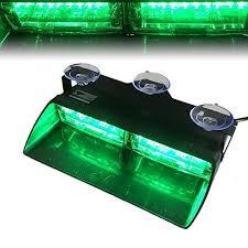 Led Emergency Dash Lights Green Emergency Lights Amazon Com