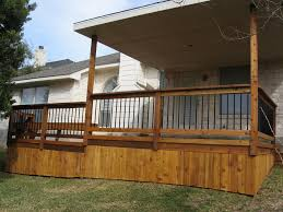 Pinterest Mobile Home Decorating Covered Wood Deck On Mobile Home Home Pinterest Deck