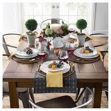 dining room table cloth farm 60 dining table honey threshold target
