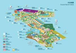 Macau China Map by Grand Resort Deck Grand Resort Deck