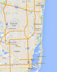 Fort Lauderdale On Map Northbound Act Iii