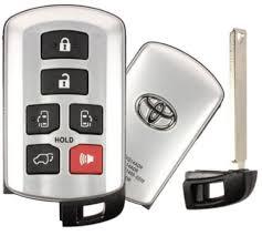 toyota car and remotes 2017 toyota smart proxy remote keyless entry key fob